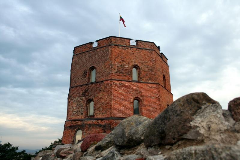 Gedimino pilis - Vilniaus aukštutinės pilies liekanos