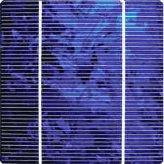 Monokristaliniai saulės elementa