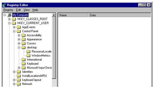 Windows OS registras