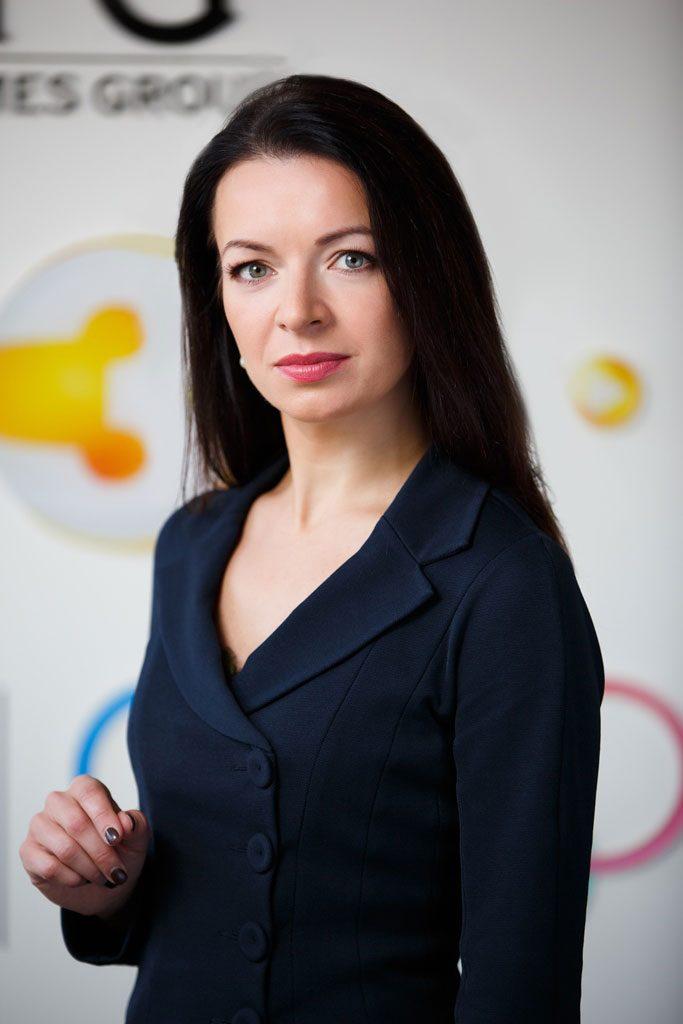 "UAB ""TELE-3"" vadovė Laura Blaževičiūtė"