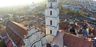 VU Šv. Jonų bažnyčios varpinė vėl kviečia lankytojus