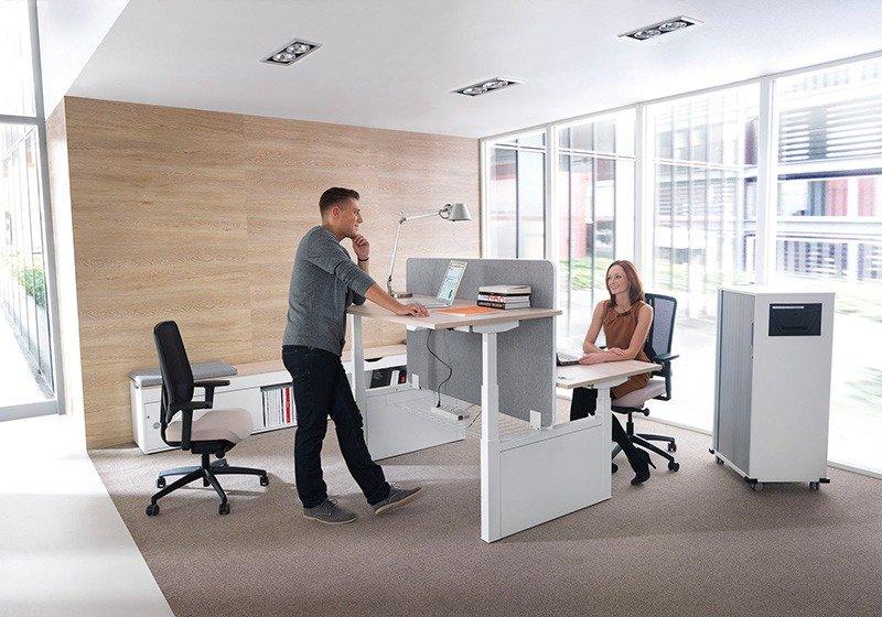 Darbdaviai darbuotojus motyvuoja keisdami biuro interjerą