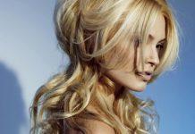Dažyti plaukai paryškina moters grožį