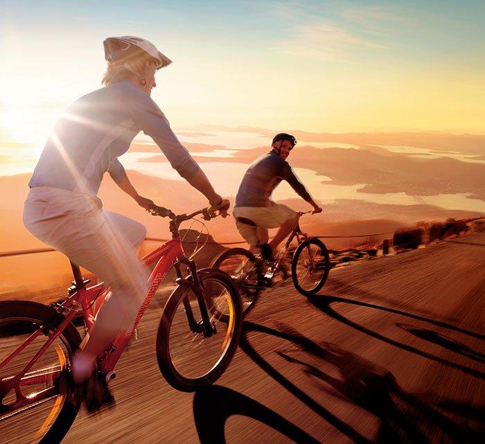 Važiavimas dviračiu: sveikatos stiprinimas ir saugumas