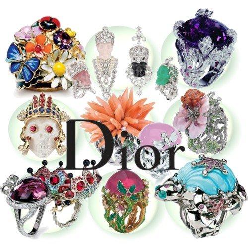 7 pav. Christian Dior papuošalai.