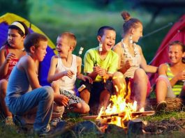 vaiku stovyklos